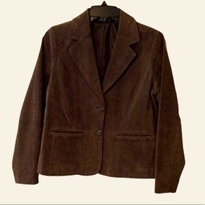 RELATIVITY GENUINE SUEDE LEATHER JACKET